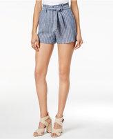 XOXO Juniors' Striped Tie-Waist Shorts