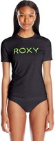 Roxy Juniors Palms Away Short Sleeve Rash Guard