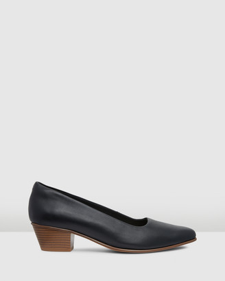 Clarks Women's Black All Pumps - Sense35 Court - Size One Size, 4 at The Iconic
