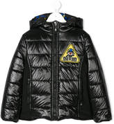 Fendi monster print padded jacket