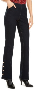 INC International Concepts Inc Snap-Hem Bootcut Jeans, Created for Macy's