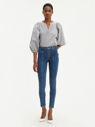 Levi's Button Front 721 High Rise Ankle Skinny Women's Jeans