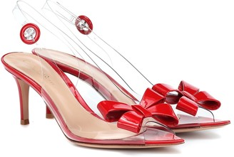Gianvito Rossi Exclusive to Mytheresa Plexi 70 slingback sandals