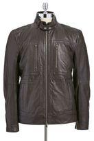 HUGO BOSS Gento Leather Jacket
