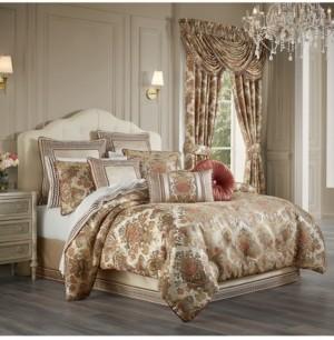 J Queen New York Juliette 4 Piece Comforter Set, California King Bedding