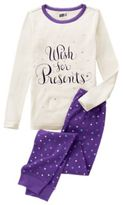 Crazy 8 Wish For Presents 2-Piece Pajama Set