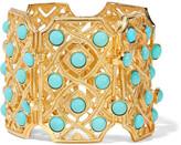 Ben-Amun Gold-plated enamel bracelet