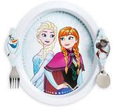 Disney Frozen Plate and Flatware Set
