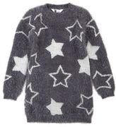 Petit Lem Girls 2-6x Magical Mischief Star Printed Pullover