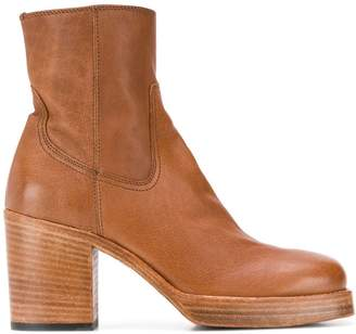 Officine Creative chunky sole ankle boots