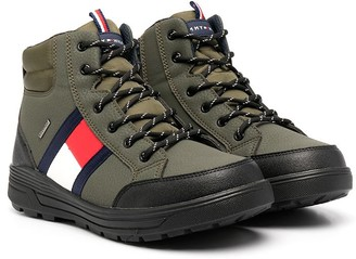 Tommy Hilfiger Junior TEEN lace-up snow boots