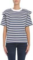 Kitsune Striped T-shirt