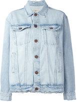 Current/Elliott button up denim jacket