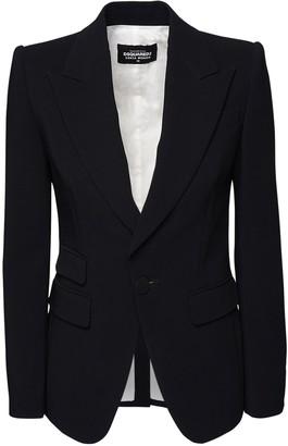 DSQUARED2 Stretch Viscose Crepe Suit