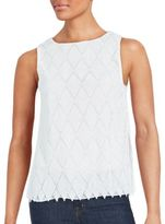 Bailey 44 Solid Sleeveless Textured Top