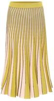 Thumbnail for your product : Baum und Pferdgarten Cyrilla metallic knit midi skirt