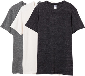Alternative Comfort Eco-Jersey Crew T-Shirt 3-Pk Bundle