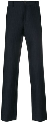 A.P.C. Striped Slim Fit Trousers