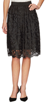 Karen Millen Scalloped Lace Midi Skirt