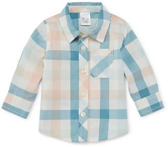 Parker PEYTON & Peyton & Boys Long Sleeve Button-Front Shirt Baby