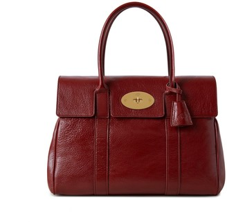 Mulberry Bayswater Crimson High Shine Calf Leather