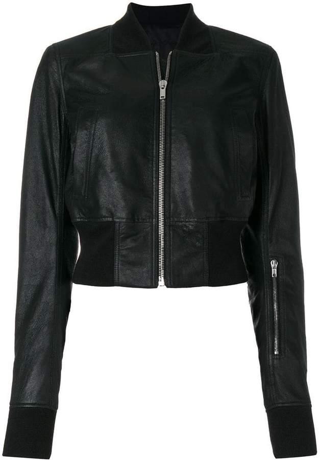 Rick Owens zip bomber jacket
