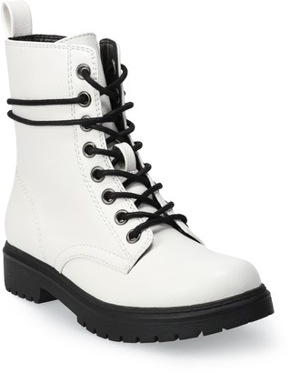 So Bowfin Women's Combat Boots