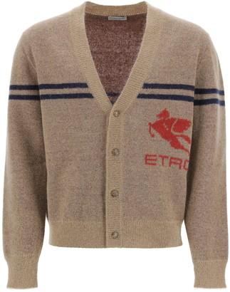 Etro Maxi Pegasus Cardigan