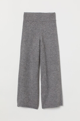 H&M Knitted trousers