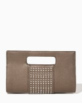 Charming charlie Cut Out Studded Clutch
