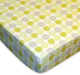 Bed Bath & Beyond Laugh, Giggle & Smile Zen Garden Fitted Crib Sheet