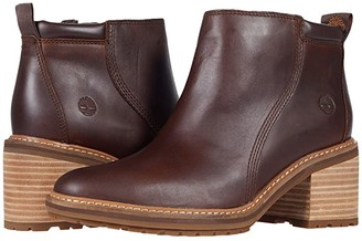 Timberland Sienna High Ankle Boot (Rust Full Grain) Women's Boots