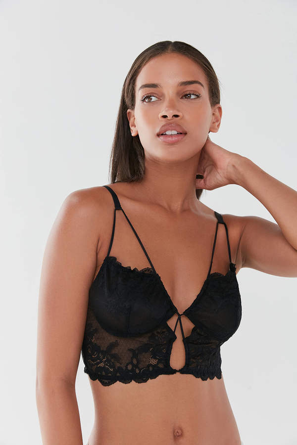 Out From Under Natalie Lace Keyhole Bra Top