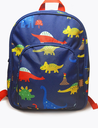 Marks and Spencer Kids' Water Repellent Dino School Bag