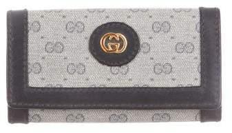 Gucci Vintage GG Key Holder