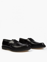 Adieu Black Leather Wtype 52* Pointed Brogues