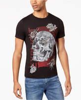 GUESS Men's Skull Graphic-Print T-Shirt