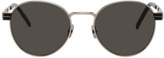 Saint Laurent Silver SL M62 Sunglasses