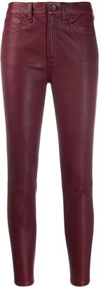 Rag & Bone Lambskin Leather Trousers