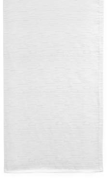 """Closeout! Bardwil Continental Collection 70"""" White Table Runner"""
