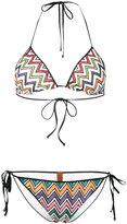 Missoni zig zag bikini - women - Nylon/Polyester/Spandex/Elastane/Viscose - 42