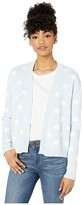 BCBGeneration Polka Dot Cardigan - TUX4263738 (Baby Blue) Women's Sweater