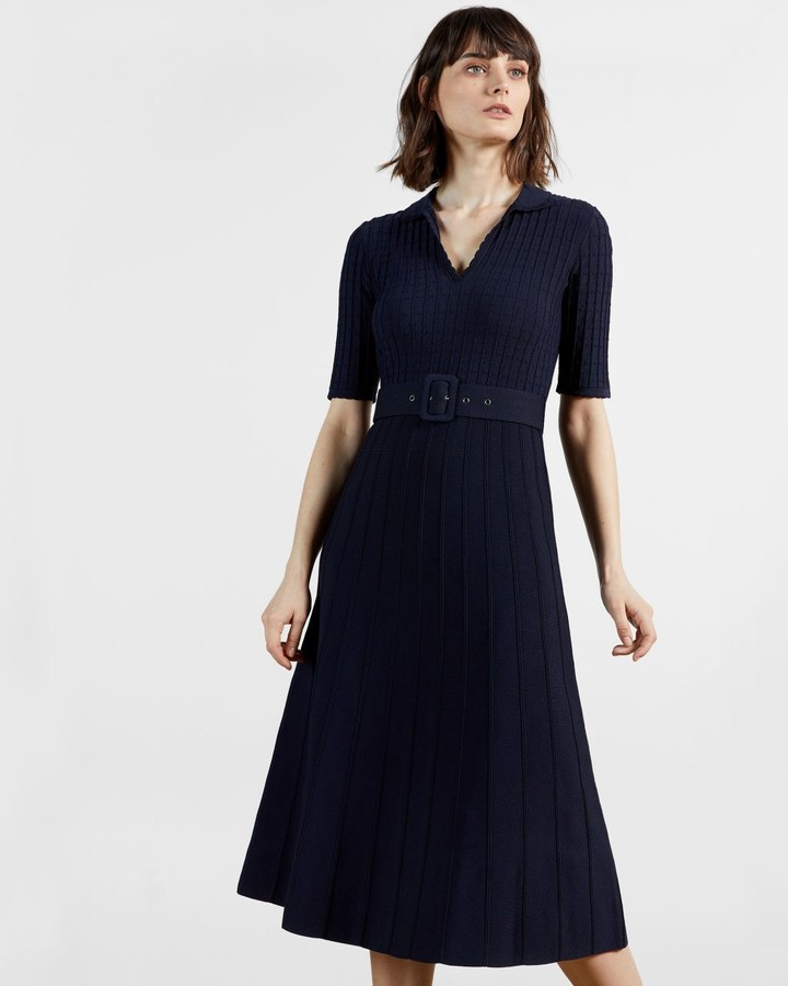 Ted Baker Knitted Midi Dress