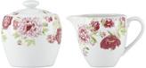 Gorham Ki Blossoming Rose Sugar Bowl & Creamer Set (2 PC)