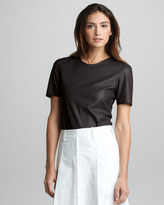 3.1 Phillip Lim Leather Tee