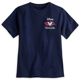 Disney Cruise Line Logo Tee for Boys - Blue