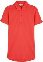 Orlebar Brown Sebastian Coral Piqué Cotton Polo Shirt