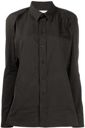 Bottega Veneta Pleat-Detail Shirt