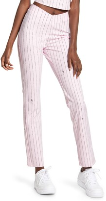 I.AM.GIA Dominque High Waist Pinstripe Pants