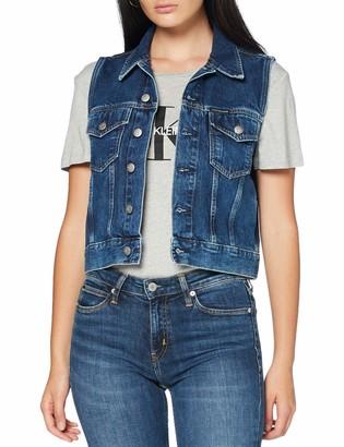 Calvin Klein Jeans Women's Vest Denim Jacket